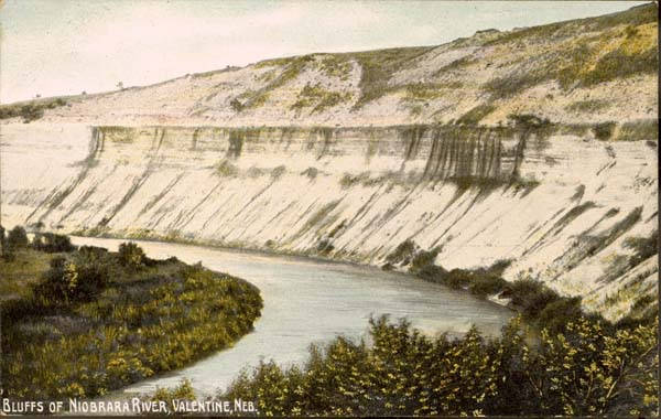 Image of Chalk Bluffs along the Niobrara
