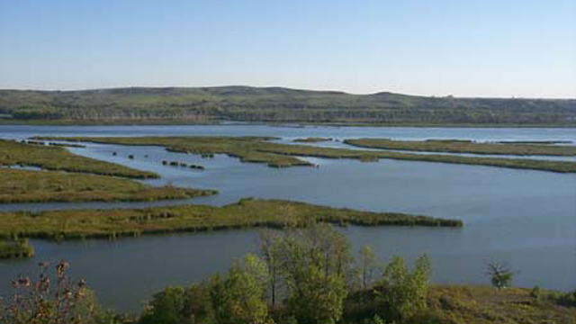 Photo of Missouri and Niobrara Confluence