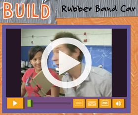 Build a Rubber Band Car with Design Squad Nation