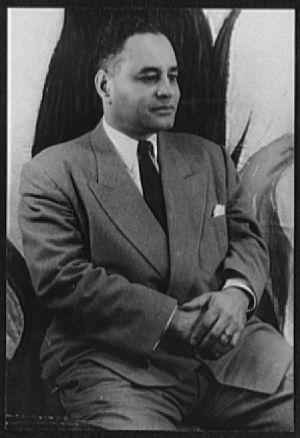 Ralph Bunche. Library of Congress, Carl Van Vechten Photographs Collection