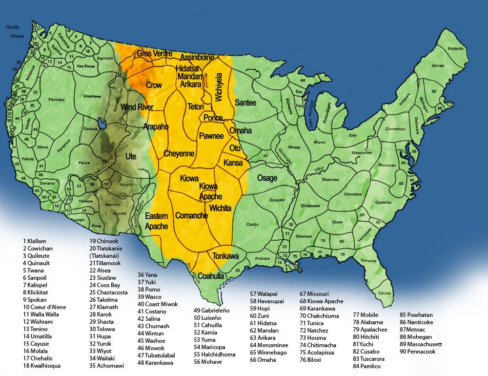 1700 North American Tribal People